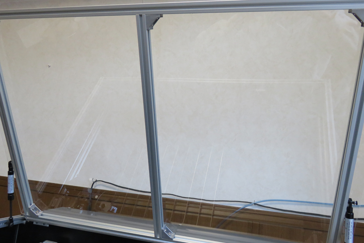 fixing aluminum frame