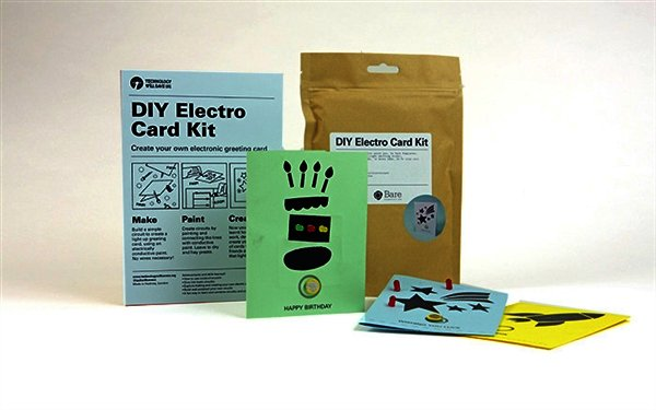 DIY Electro Card Kit