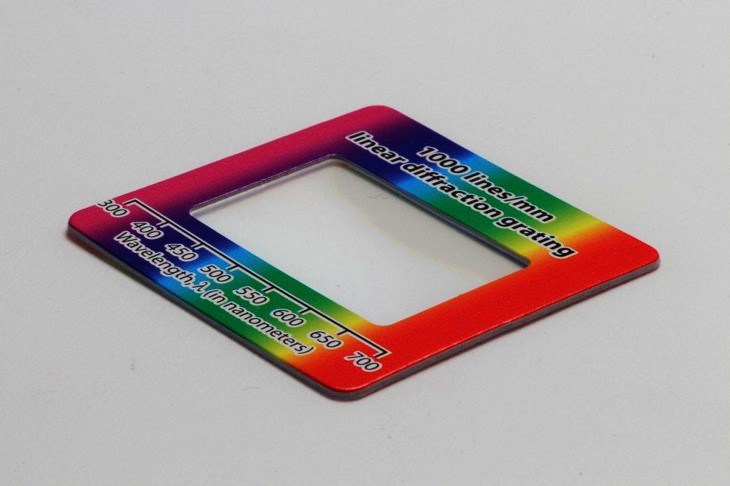 回折格子シート