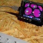 Raspberry Pi用2.8インチタッチパネルモニター