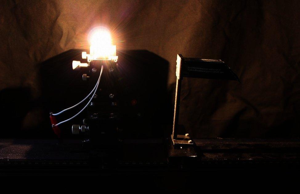 組み立て式ミニ分光器キット 測定編の画像