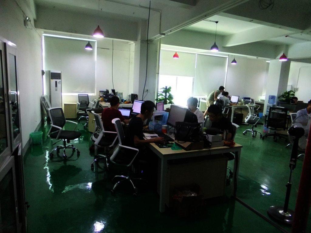 設計部門事務所