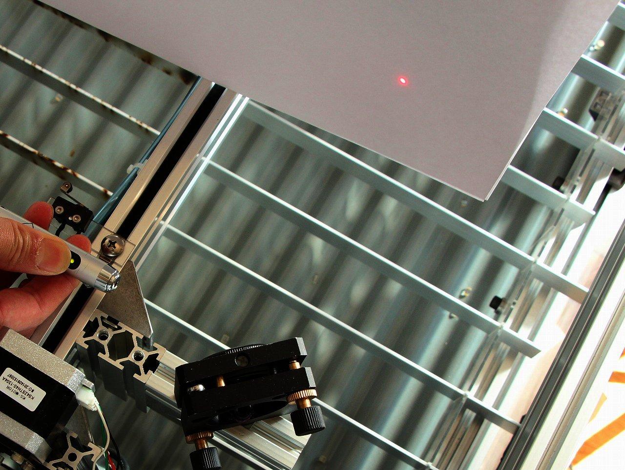 CO2レーザー加工機(カッター) 構造編 ミラー レンズの画像