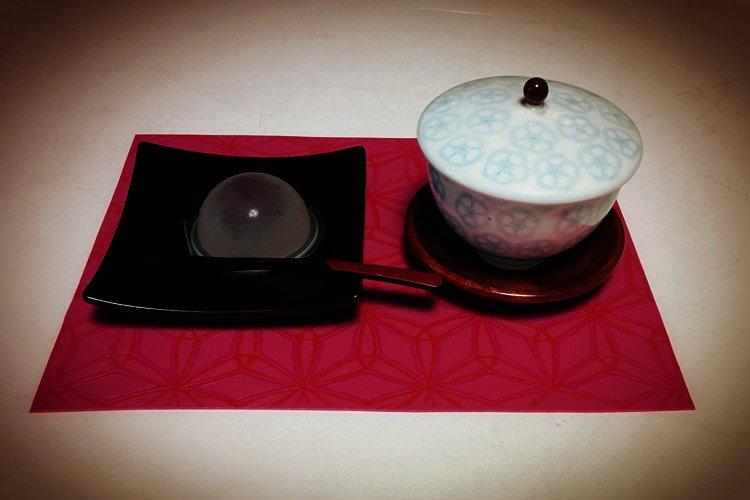 季秋のお茶に彩りを。お手製ランチョンマットの画像