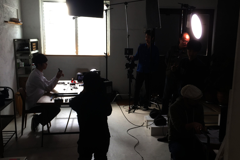 クラウドファンディング用動画、撮影の裏側