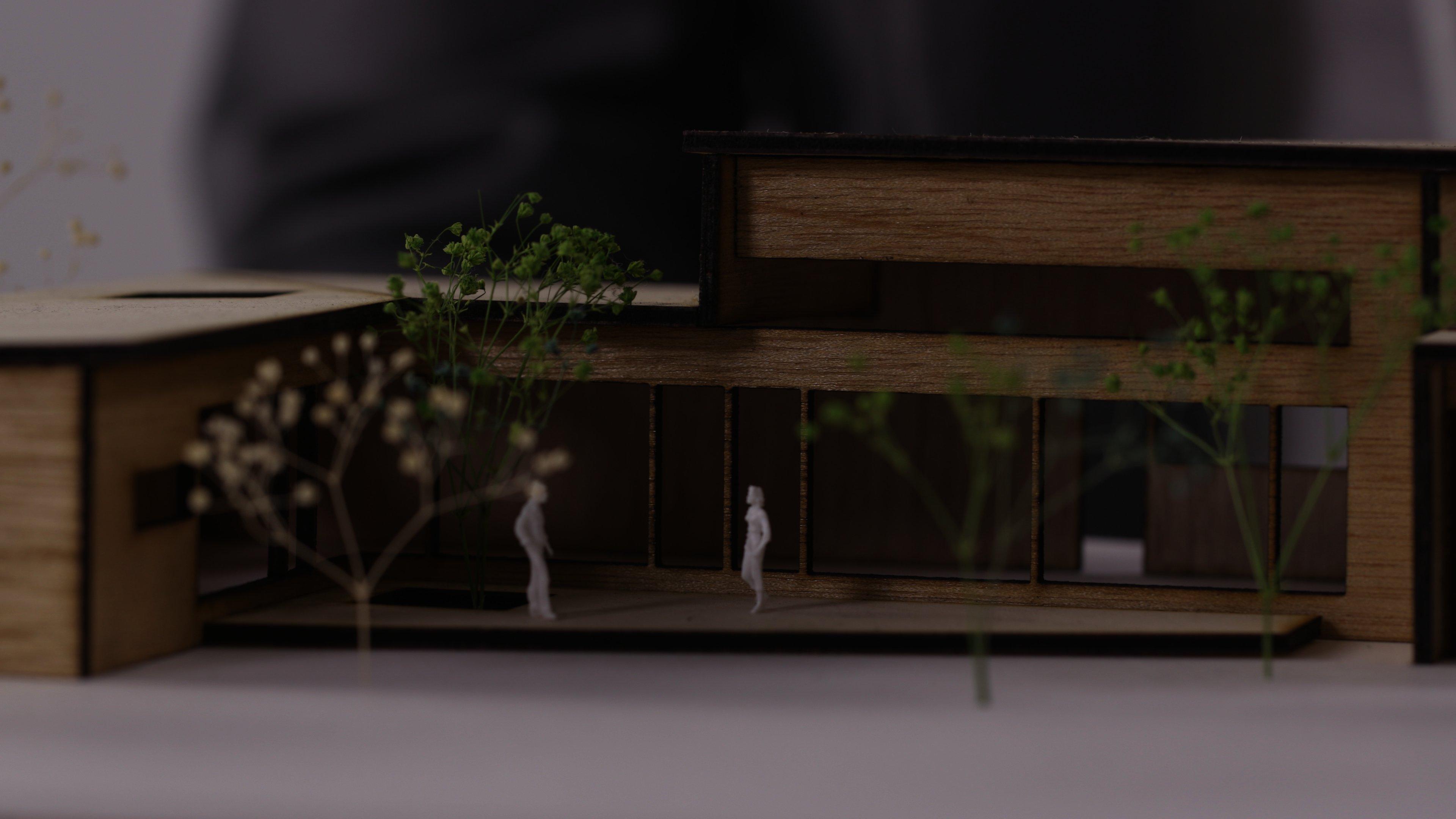 建築模型_アップ
