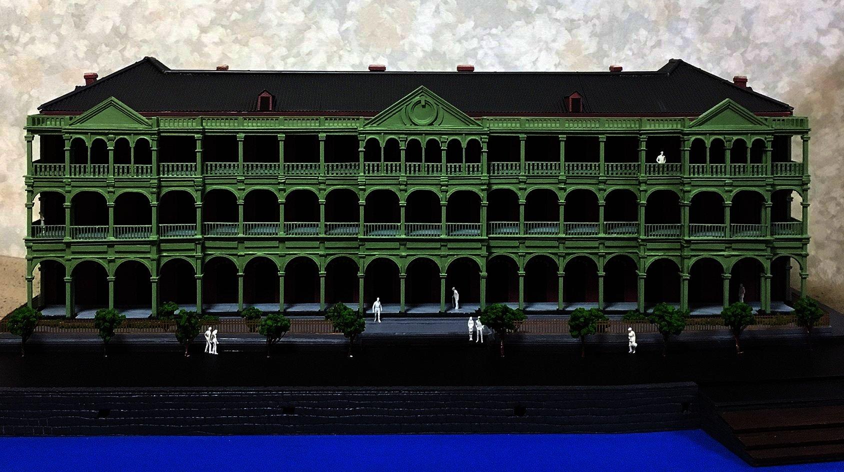 建築模型_レーザー加工