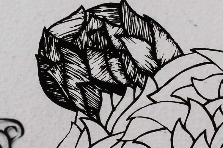 レーザーで繊細な切り絵を作ってみました!の画像