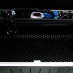 【新商品】CO2レーザー加工機用、ハニカム加工ベッドの予約受付を開始!