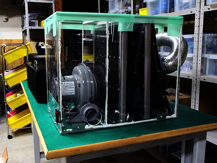 開発現場レポ 1 FABOOL Laser Mini用集塵機の画像