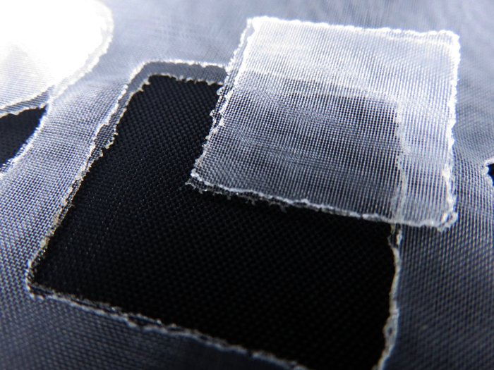 Cutting Nylon Fabric 115