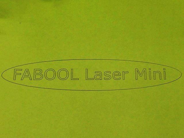 色紙をレーザーカッターで切断