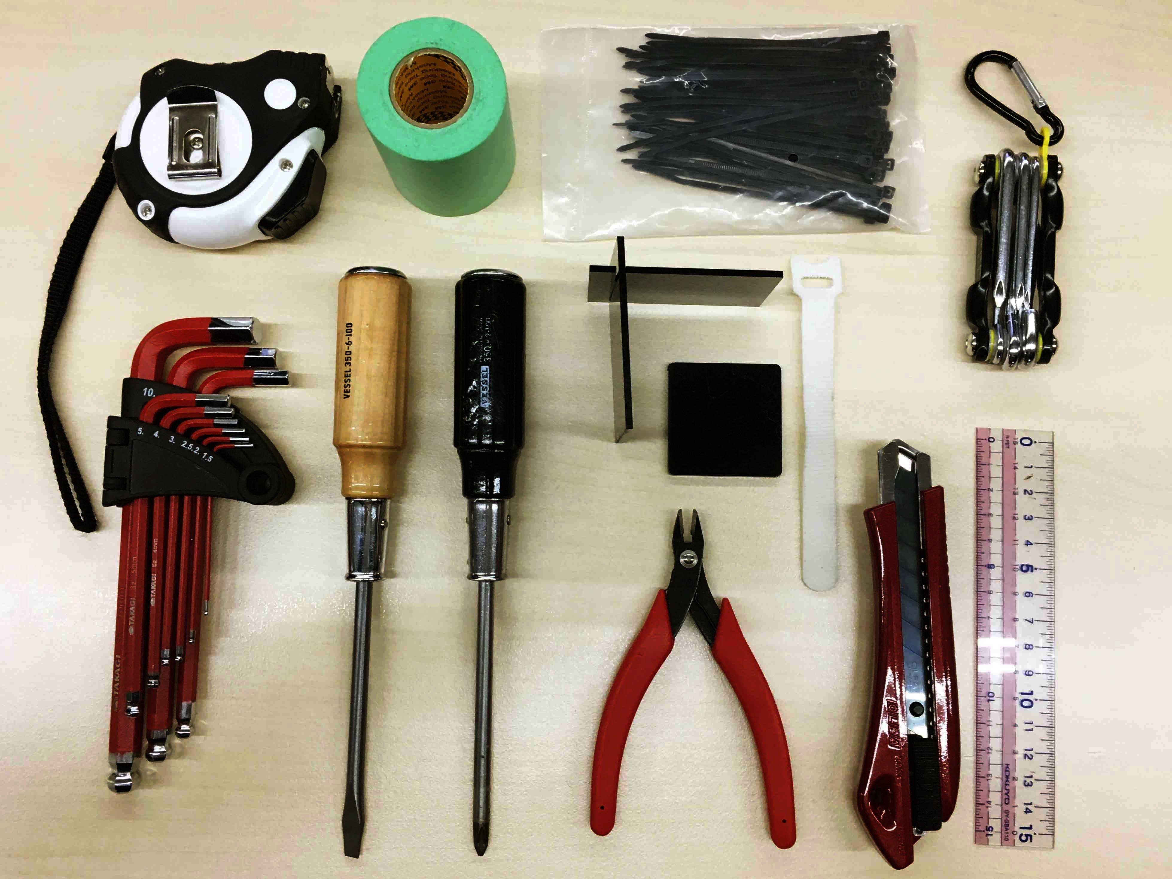 DIY女子の工具