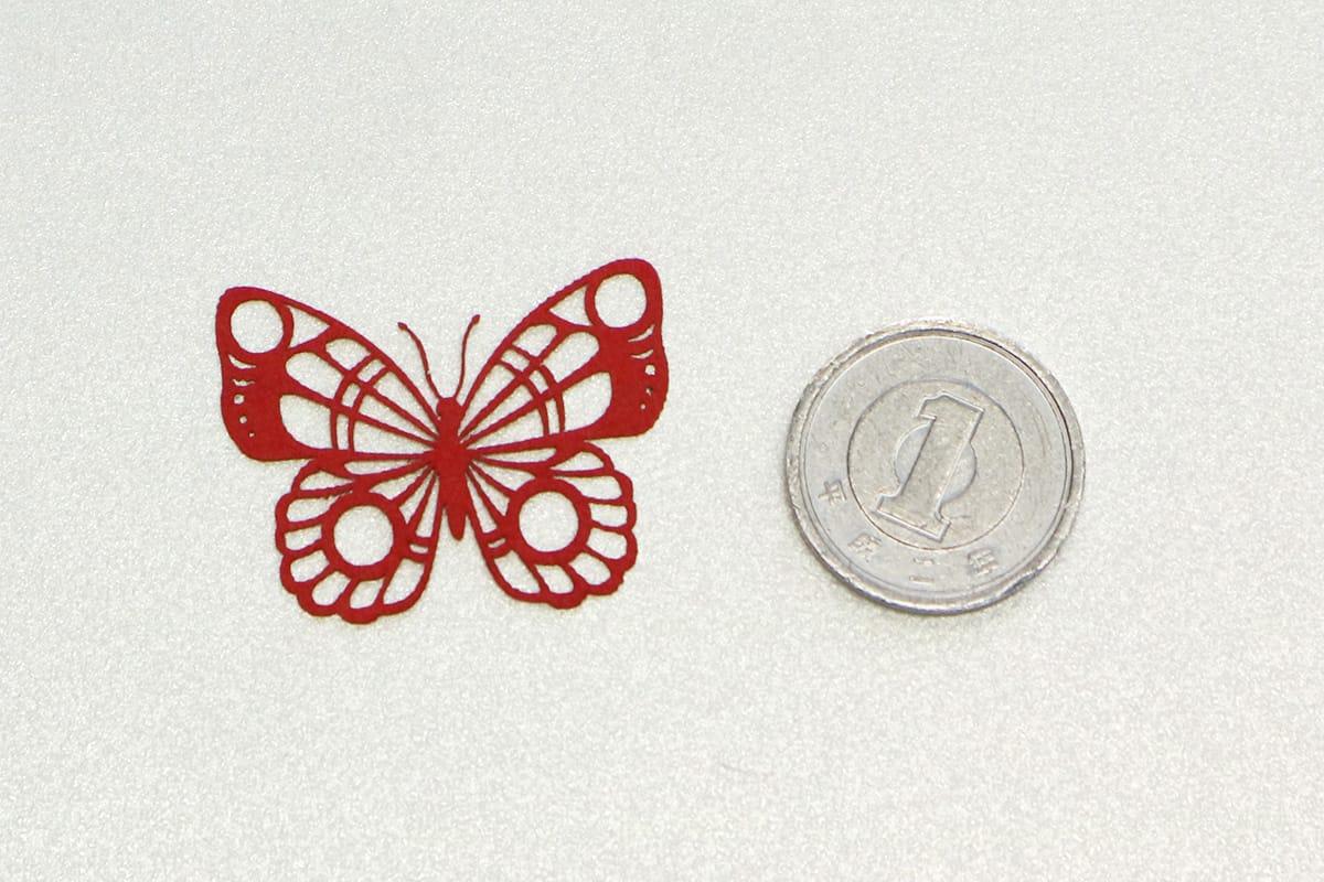 蝶のカット