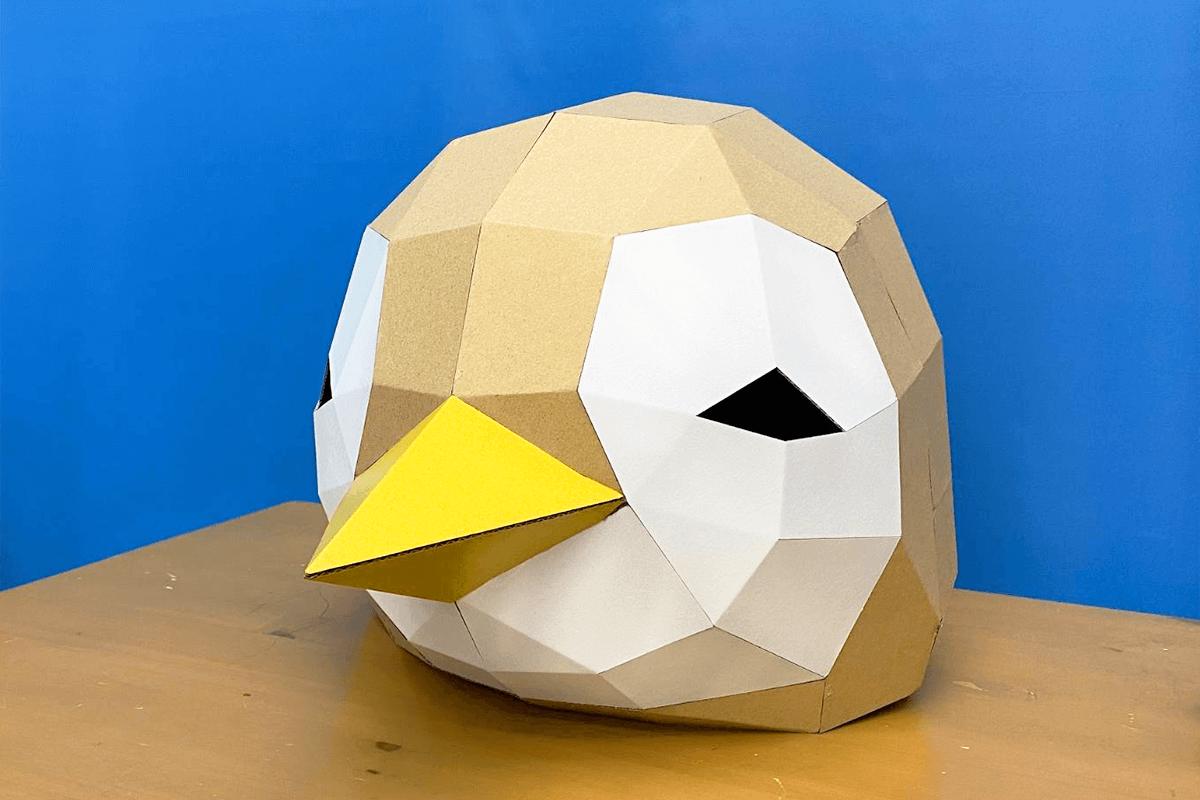 ペンギンヘルメットを製作