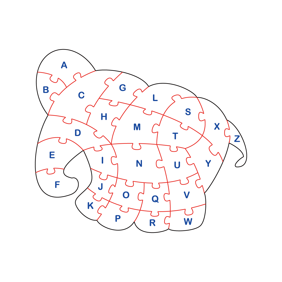 パズル(象)2