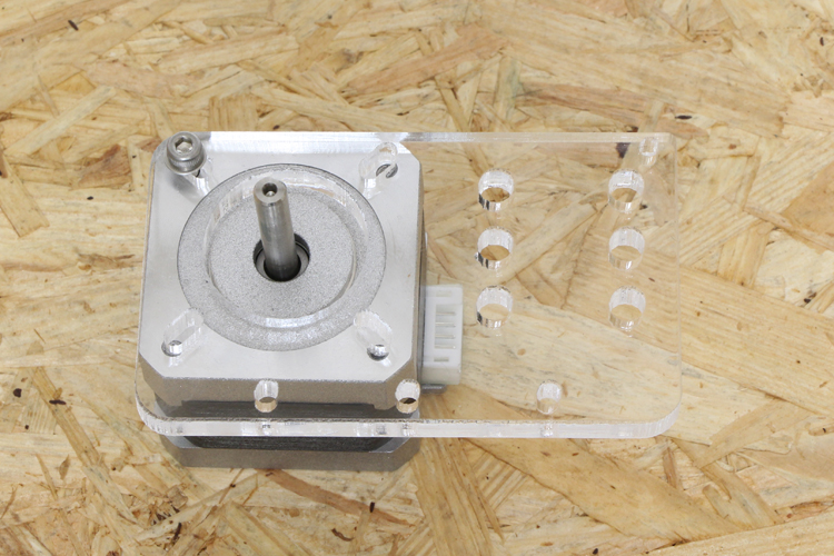 motor mount plate x-axis取り付け向き