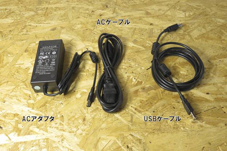 ACアダプタACケーブル USBケーブル