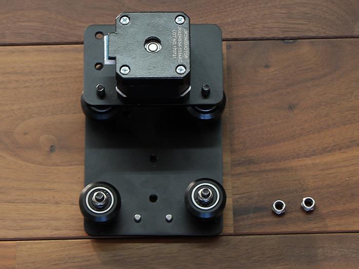 wheel plate motor mountユニット取り付け
