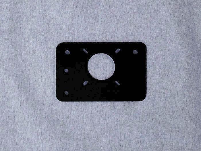 wheel plate motor mount